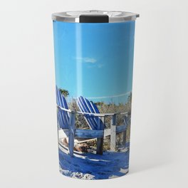 Beach Art - Waiting For Friends - Sharon Cummings Travel Mug