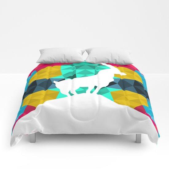 Origami Goat Comforters