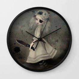 broken dawn Wall Clock
