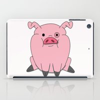 gravity falls iPad Cases featuring Gravity Falls - Waddles by pondlifeforme