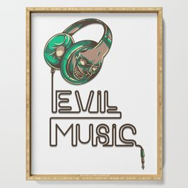 EVIL MUSIC Serving Tray