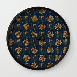 Oriental Ornaments Wall Clock