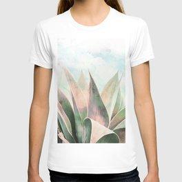 Landscape plant paint T-shirt
