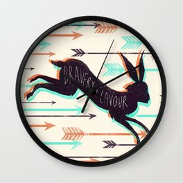 Bravery Flavour  Wall Clock