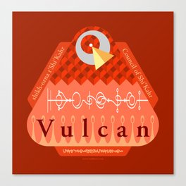 Welcome to Vulcan Canvas Print