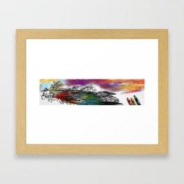 Coloring  Framed Art Print