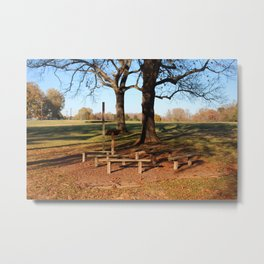 Country Worship Metal Print
