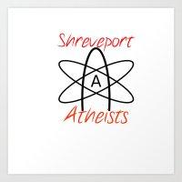 Shreveport Atheists Logo Art Print