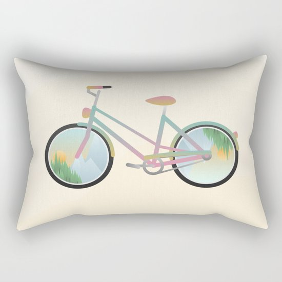Pimp my bike Rectangular Pillow