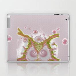 Mind Bubble in pink Laptop & iPad Skin