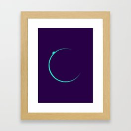 Eclipsed Framed Art Print