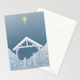 Nativity Scene Stationery Cards
