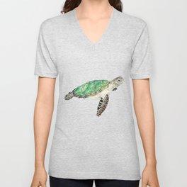 Sea Turtle Unisex V-Neck