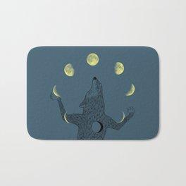 Moon Juggler Bath Mat