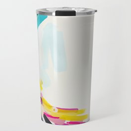 Yesterday to Tomorrow - abstract painting by Jen Sievers Travel Mug
