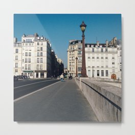 Perfect Day in Paris - Ile Saint Louis Metal Print