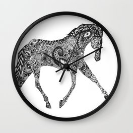 Paisley Pace Wall Clock