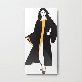 Mystique White Woman Metal Print