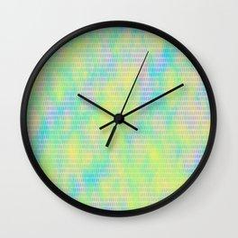 Pastel Pattern 1 Wall Clock