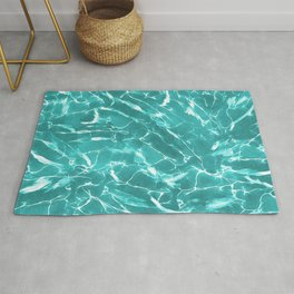 Abstract Water Design Rug