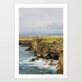 Wind Ranch. Art Print