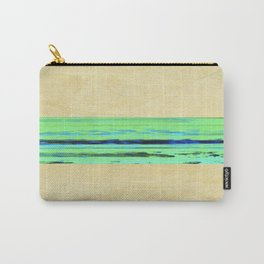 Modern Movement 001 - Corbin Henry Signed - Abstract Landscape Canvas Art - Seascape - Ocean Carry-All Pouch