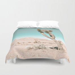 Vintage Desert Scape // Cactus Nature Summer Sun Landscape Photography Duvet Cover