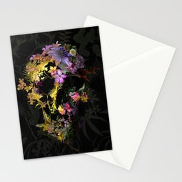 Spring Skull Stationery Cards