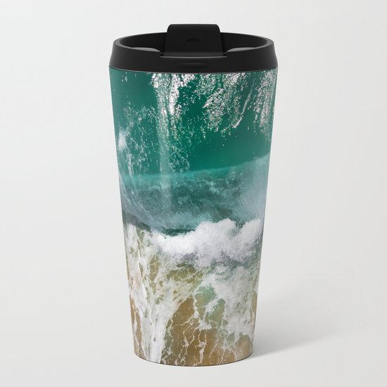 Ocean Wild Metal Travel Mug