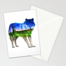 Windmill Wolf Stationery Cards