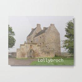 Lallybroch Castle gifts Metal Print