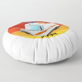 ambulance driver for people who like ambulance drivers and EMTs  Floor Pillow
