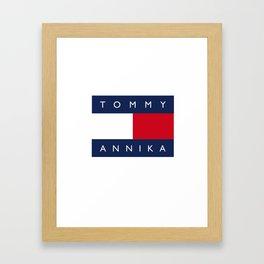 Tommy & Annika Framed Art Print