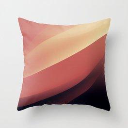 Vintage dunes Throw Pillow