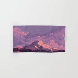 Mt Rainier Hand & Bath Towel
