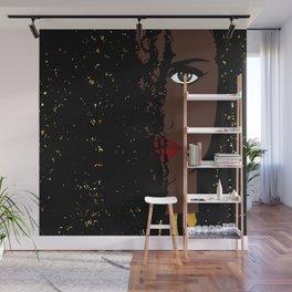 Iolana Black Queen Fashion art Wall Mural
