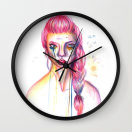STARING HOLES - Equilibrium Wall Clock