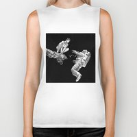 apollonia Biker Tanks featuring asc 578 - La séparation (Cutting the cord) by From Apollonia with Love
