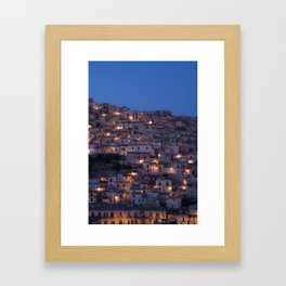 Blue Hour Framed Art Print
