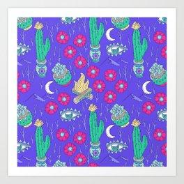 Desert Nights Art Print