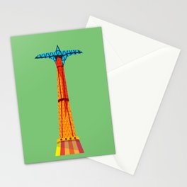 Parachute Jump Stationery Cards