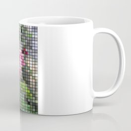 Pink Roses in Anzures 6 Mosaic Coffee Mug
