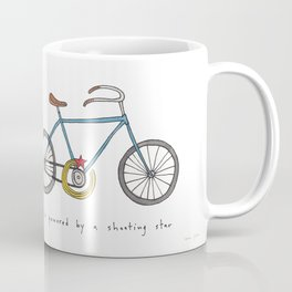 bicycle powered by a shooting star Coffee Mug