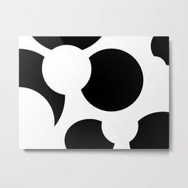 Whitespace Metal Print