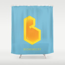 Biomimicry Shower Curtain