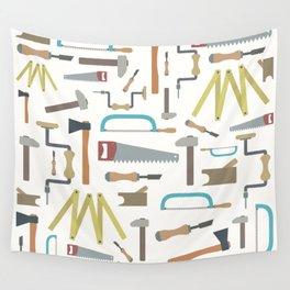 Carpenter world Wall Tapestry