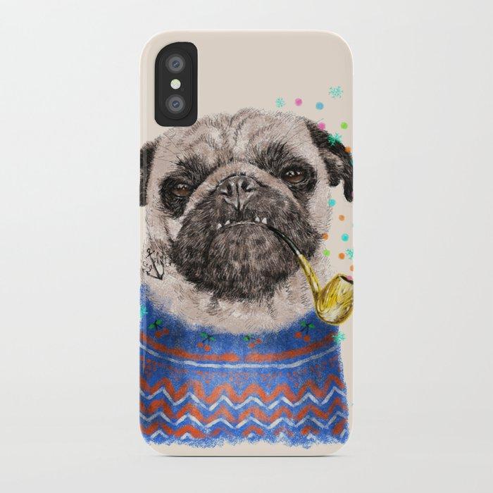 Mr.Pug II iPhone Case
