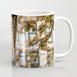 Realistic Painting of the Gastown Steam Clock in Vancouver, BC Coffee Mug
