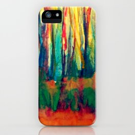 Forests and Dreams  iPhone Case