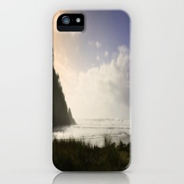Capturing The Right Moment On Canvas iPhone Case